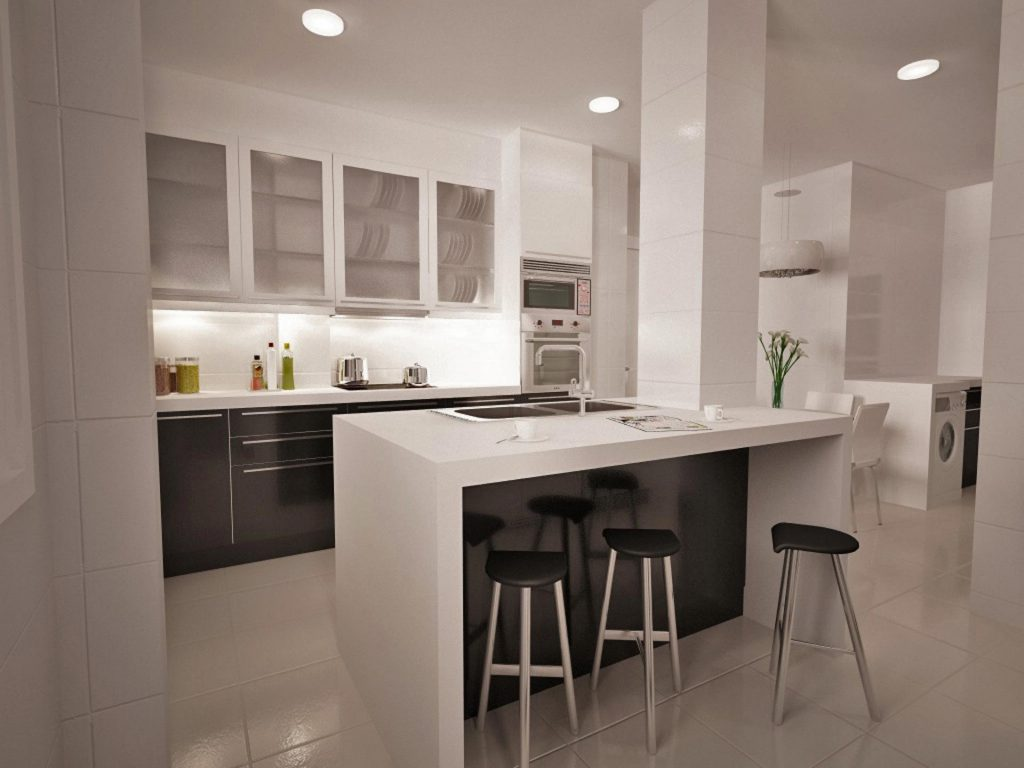 ventajas de tener una isla en la cocina. Black Bedroom Furniture Sets. Home Design Ideas