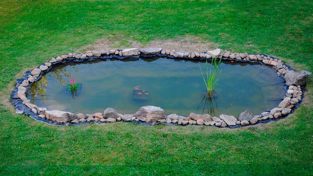 Tienes espacio construyamos un estanque en el jard n for Videos de estanques
