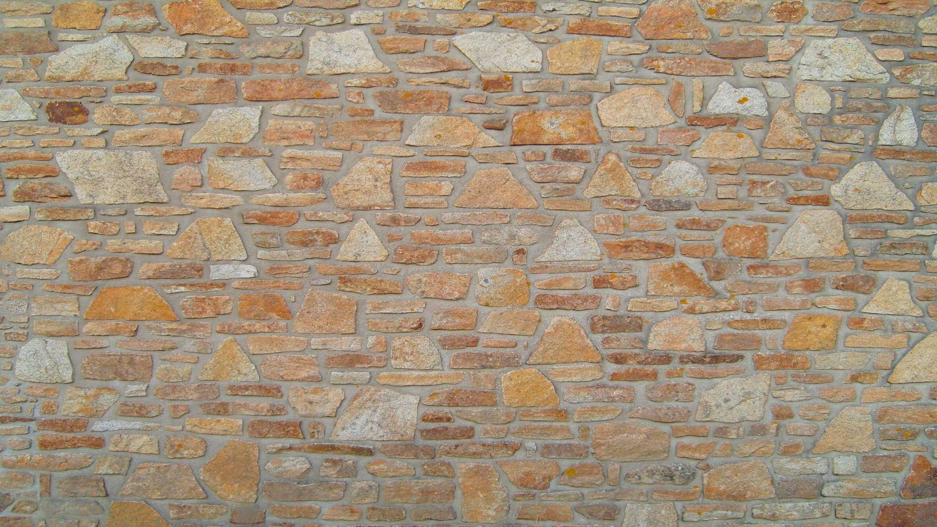 Colocar un revestimiento de imitaci n de piedra en el sal n - Revestimiento de paredes imitacion piedra ...