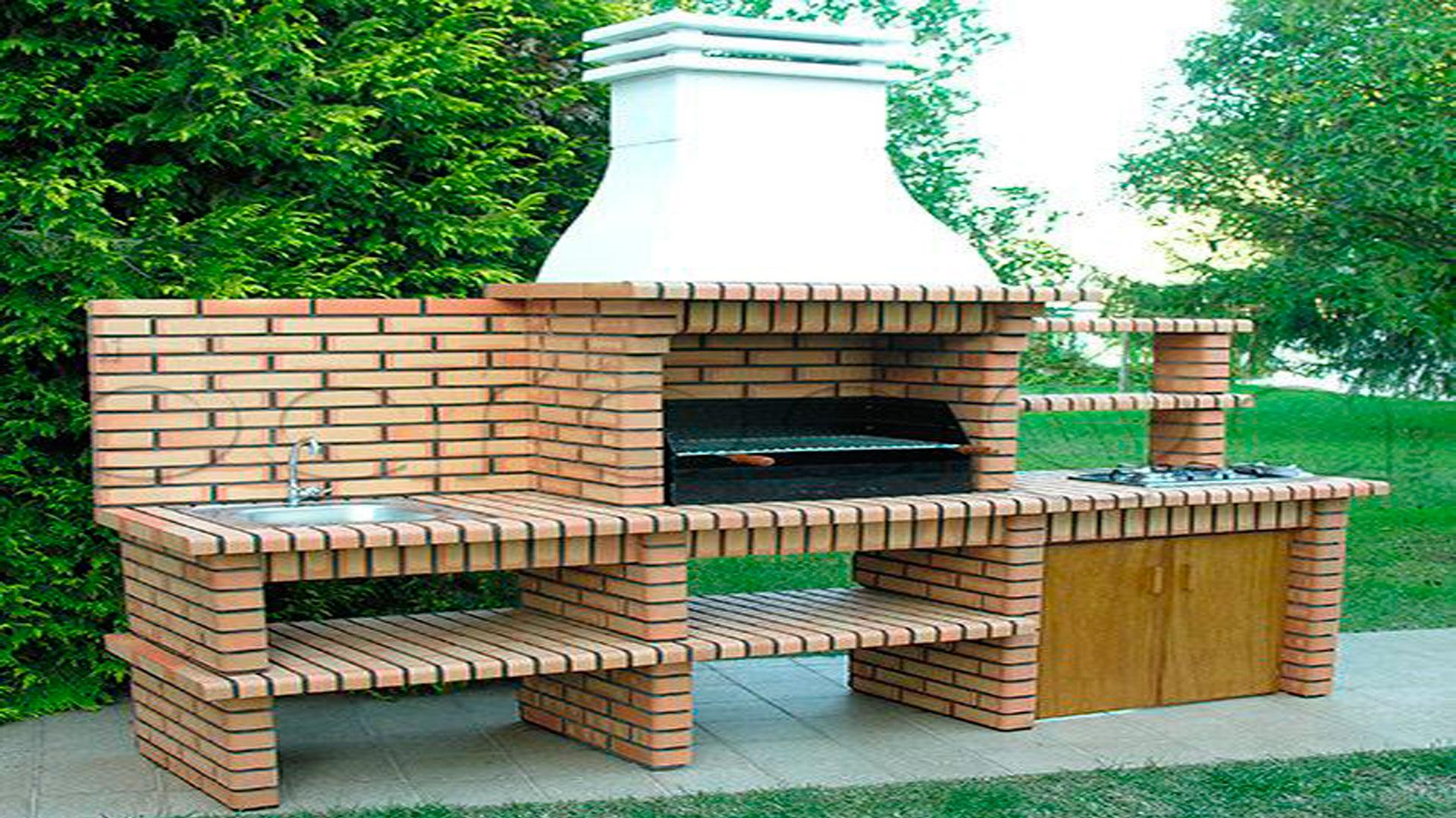 Construir una barbacoa - Hacer chimenea barbacoa ...