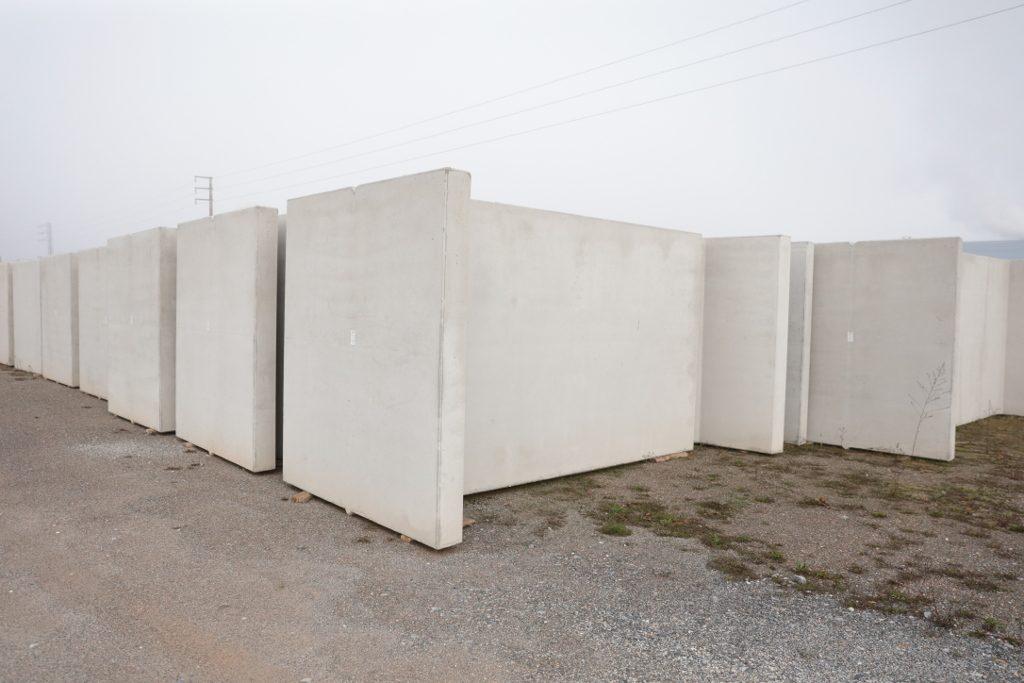 Muros prefabricados de hormig n bloques cando - Muro de bloque de hormigon ...