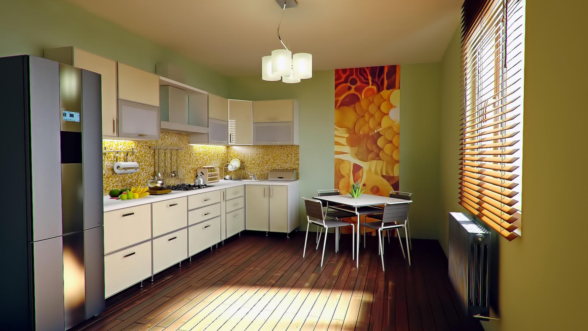 Decora tu cocina y tu baño con papel pintado