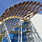 Premio mundial para el Campus de Lugo por su estructura de madera de eucalipto1920