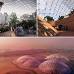 Diseñada la primera ciudad extraterrestre del mundo para vivir como en Marte 1920